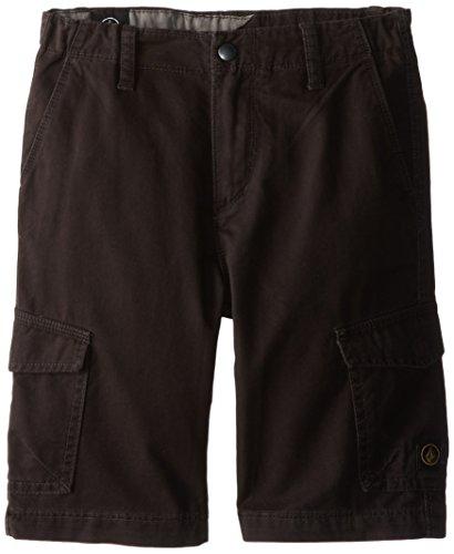 Volcom Little Boys' Fieldstone Cargo Short, Black, 5