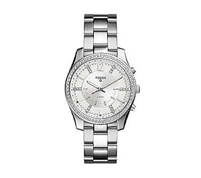 Fossil Women's Scarlette Silvertone Hybrid Smart Watch