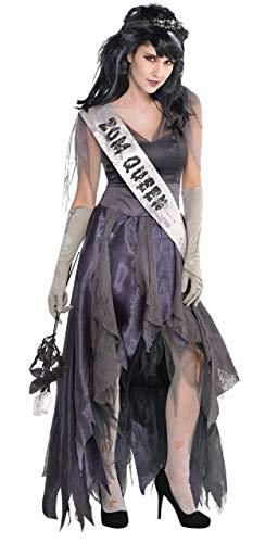 Ladies Dead Corpse Zombie Queen Homecoming Prom Creepy