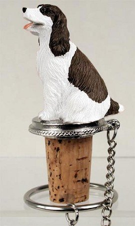 Springer Spaniel Gifts (Springer Spaniel Liver Wine Bottle Stopper - DTB22A by Conversation Concepts)