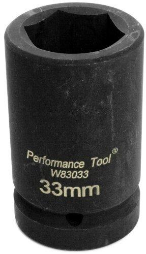 Performance Tool W83033 1 DR Budd Wheel Socket 33MM [並行輸入品] B078XLJHNN