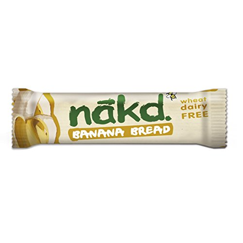 Nakd | Barras de pan de plátano | 18 x 30g: Amazon.es: Alimentación y bebidas