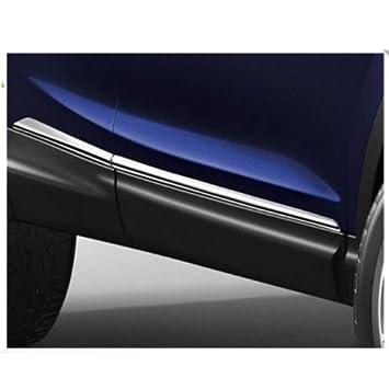 Original Nissan Qashqai a partir de 2014 umbral de la puerta tiras ke7604e50 C, adornos en cromo: Amazon.es: Coche y moto