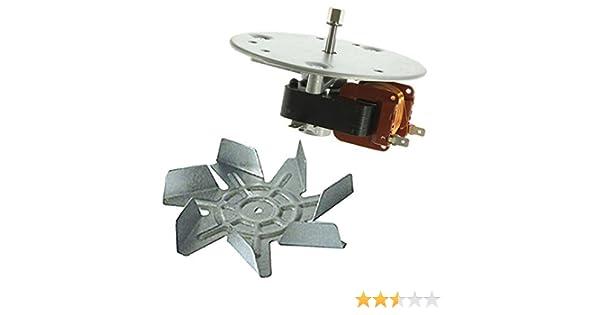 SPARES2GO Aspa De Ventilador y Unidad De Motor para Hotpoint Horno / Cocina: Amazon.es: Hogar