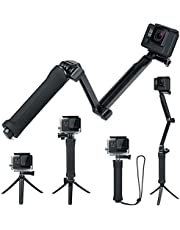 FitStill Waterproof Monopod Floating Hand Grip for Gopro Hero 7/Hero 6/Hero 5/Hero(2018)/4./3 Hero 5/4 Session SJCAM Yi and Other Action Cameras.Snorkeling Underwater Diving Floating Selfie Stick Pole