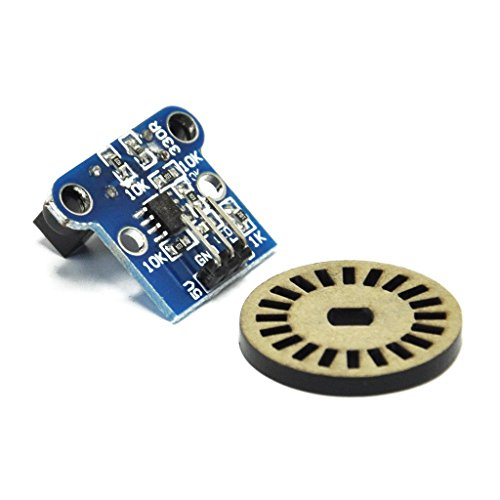 CNBTR 300mmx6mm Aluminum Industrial Encoder Wheel Meter Wheel for Rotary Encoder with Wrench /& Screws