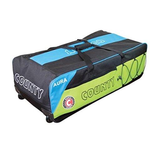 Hunts County Cricket Wheelie Bag Aura - 2015 by Hunts County by Hunts County