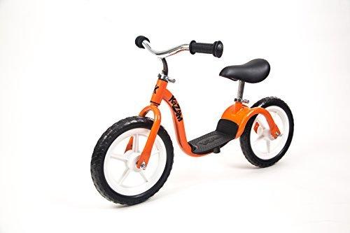 KaZAM v2e No Pedal Balance Bike, 12-Inch, Orange by KaZAM
