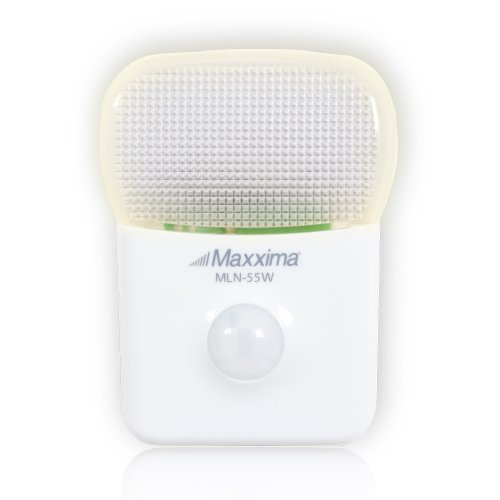 Maxxima MLN-55W LED Motion Activated Night Light with 5 LEDs Warm White