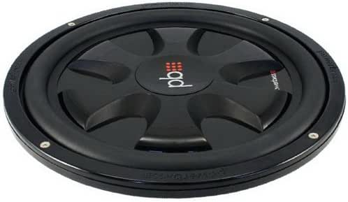 PowerBass XL Series 10 Single 4 Ohm Shallow Mount Subwoofers