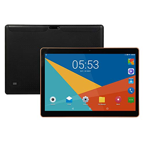 MeterMall Tablet KT107 10.1 Inch 4G-LTE Tablet Android 8.0 Bluetooth PC 8+128GB Dual SIM with GPS Black UK plug