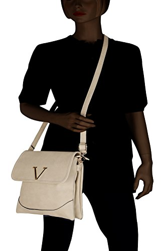 Collection Crossbody MKF Designer Handbag Bag White Morgan pWwOqnwB
