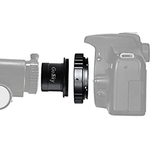 1.25-Inch Telescope Camera Adapter for Canon NIkon Sony
