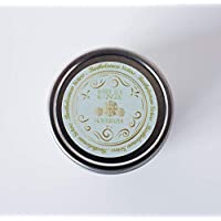 Handmade Natural Vegan Almond Butter with White Tea Ginger Oil, 1.5 oz
