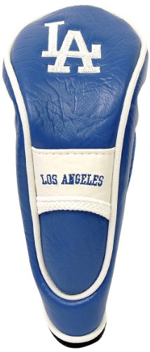 Team Golf MLB Los Angeles Dodgers Hybrid Golf Club Headcover, Hook-and-Loop Closure, Velour lined for Extra Club Protection