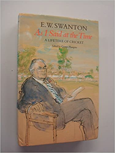 Descargar Elitetorrent En Español As I Said At The Time: Life-time Of Cricket De PDF