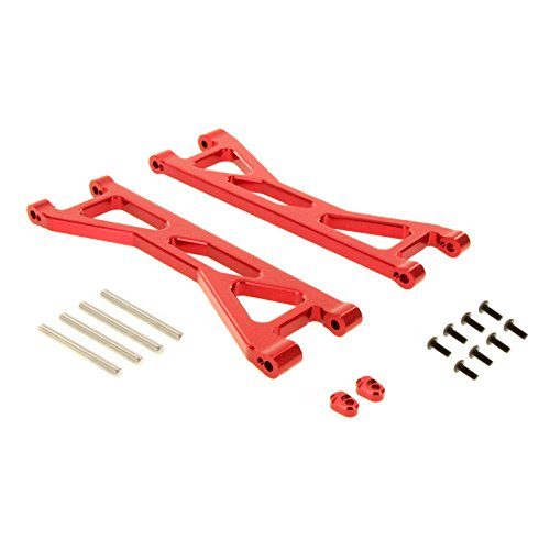 Atomik RC Alloy Front/Rear Upper Arm, Red fits the Traxxas X-Maxx - Replaces Traxxas Part 7729