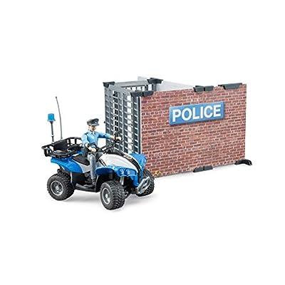Bworld Police Station: Toys & Games