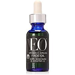 EO Ageless Skin Care Organic Argan Face Oil with Avocado & Vitamin E, 1 Ounce