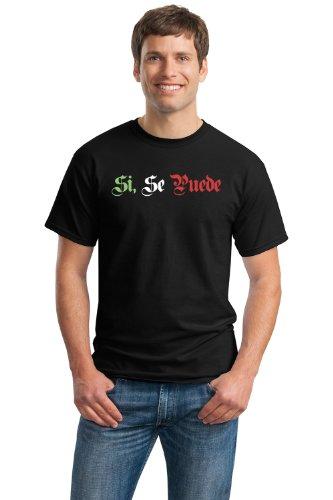 SI SE PUEDE Adult Unisex T-shirt/Farm Workers, Hispanic, Latino, Mexican Civil Rights Pride Tee