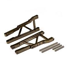 Atomik Alloy Rear Lower Arm 1:10 Traxxas Slash 4X4 + Other TRX Models - Grey