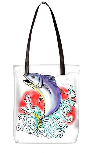 Snoogg Strandtasche, mehrfarbig (mehrfarbig) - LTR-BL-4021-ToteBag