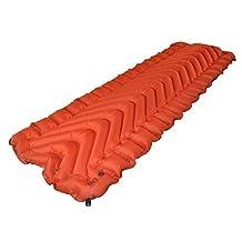KLYMIT Insulated Static V Camping Pad, Orange by Klymit