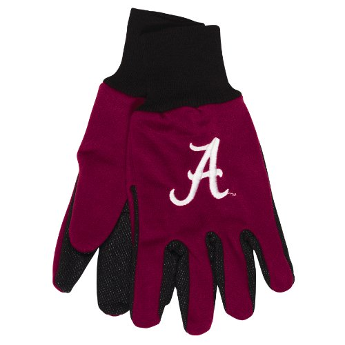 NCAA Alabama Crimson Tide Two-Tone Gloves, - Tuscaloosa Mall In