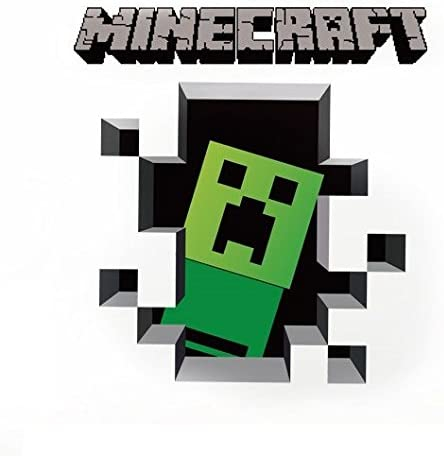 Amazon ウォールステッカー Minecraft マインクラフト 壁紙シール ウォールステッカー オンライン通販