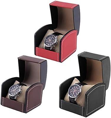 AERSHI Caja de Reloj Caja de exhibición Cajas Relojes Joyería Organizador de Almacenamiento de Cuero Caja Organizador Profesional Caixa para Relogio China 03: Amazon.es: Hogar