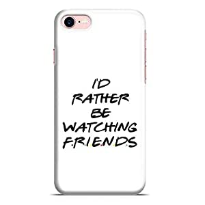Loud Universe iPhone 8 Case Friends Id Rather Slim Wrap Around iPhone 8 Cover