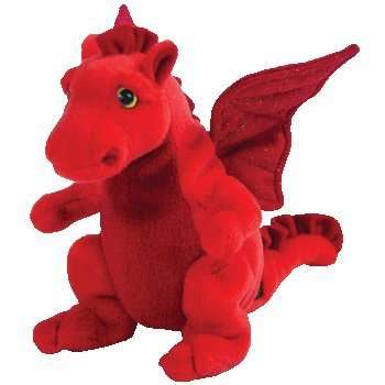 Y DDRAIG GOCH the Red Dragon (UK Exclusive) - Ty Beanie Babies