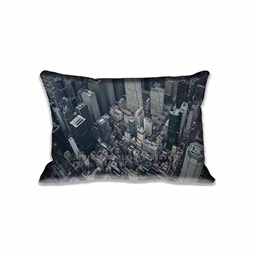 20x30inch Bedding Home Decorations Helicopter Tours in New York City Pillowcase Pillow Sham(Twin Sides)for New Year Gift