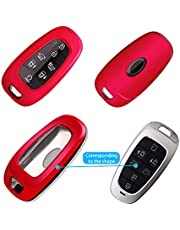 Ruiya Update TPU Key Fob Cover Fits for 2022+ Hyundai Tucson NX4 Smooth Durable Remote Shell Case Protector
