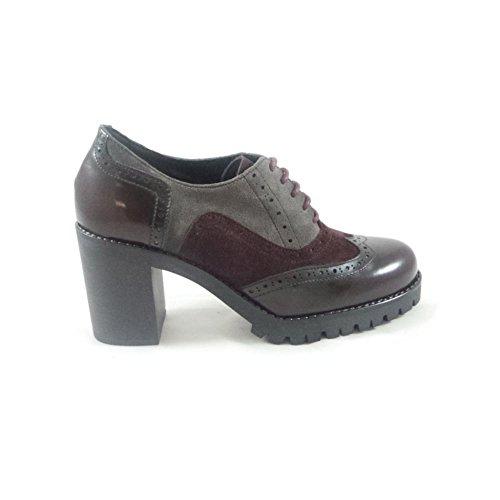 Rojo Red Zapatos mujer de cordones Aeros para wYpXqwT