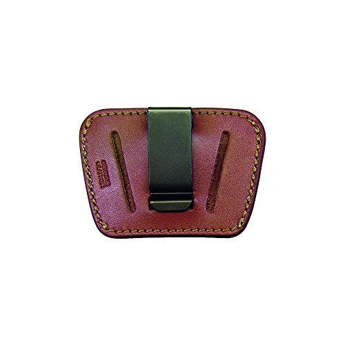 PS Products Homeland Concealment Belt Slide Holster with Removable Clip- Small