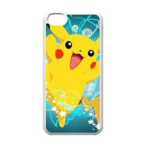 Pokemon iPhone 5c Cell Phone Case White xlb-314648