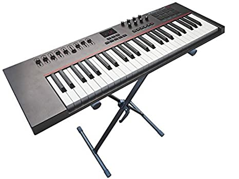 Soporte para teclado (cabe para Yamaha Casio Korg Roland) Keyboard S de piano piano