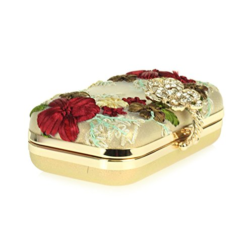 Wedding Work Bridal bag Party Hand Gold nbsp;Clutch Prom Evening Ladies Thread Minaudiere Women qEXSfX