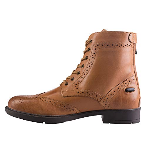 - Horze Devon Jodhpur Boots, Light Brown, 38