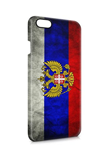 3D iPhone 7 PLUS Russland Wappen Flipcase Tasche Hülle Case Cover Schutz Handy