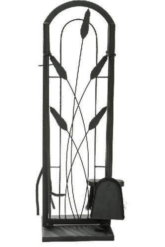 (Black 5 Piece Cotton Tail Design Fireset - 30 inch)