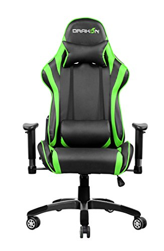Drakon Raidmax Gaming Chair, Green