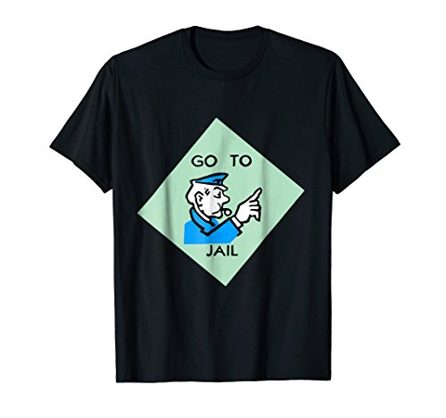 Go To Jail - Last Minute Haloween/Party Custome TShirt]()