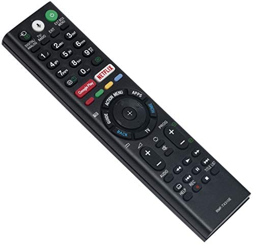 ALLIMITY RMF-TX310E Mando a Distancia reemplazado por Sony Bravia LED LCD TV KD-43XF8096 KD-43XF7596 KD-43XE8396 KD-43XE8099 KD-43XE8096 KD-43XE8088 KD-43XE8077 KD-43XE8005 KD-43XE8004: Amazon.es: Electrónica