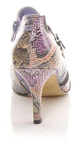 Bellini Womens 3 Manigi Enkelbandje Mode Pumps Paarse Slang