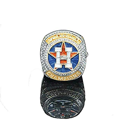 - YIYICOOL 2017 Houston Astro's World Series Ring Wooden Box Ring Size 9-12 (Altuve, 11)