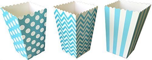baby blue popcorn box - 9