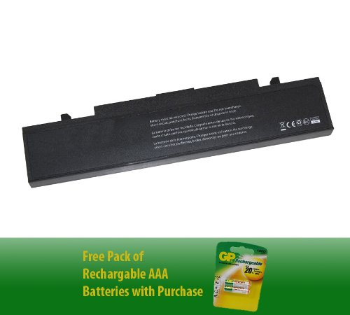 Notebook Battery for Samsung AA-PB9NC6B (6-cell, 4400mAh)