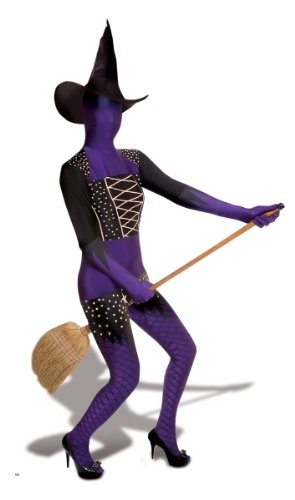 Morphsuits Men's Purple Witch Adults, Multi, Large ()
